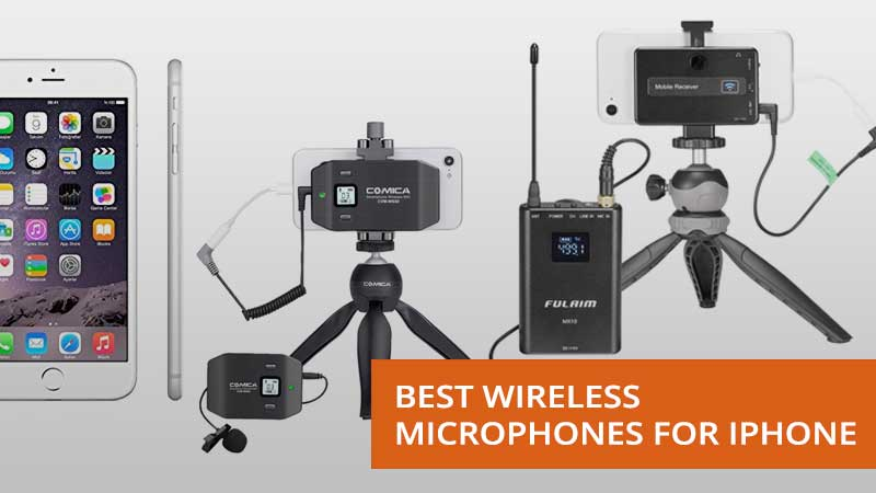best wireless microphones for iphone